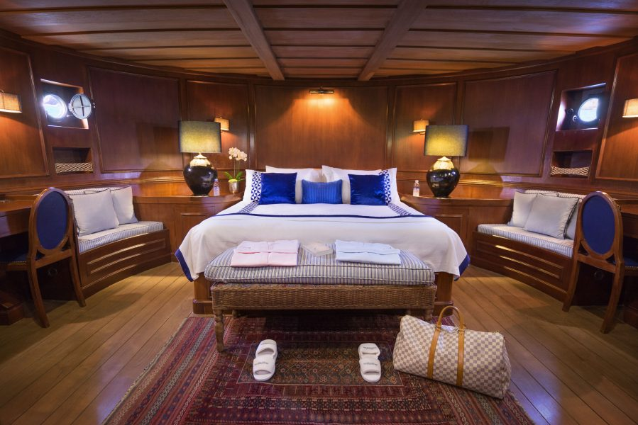 Yacht Upper Deck Back